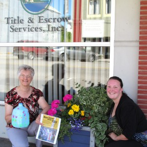 Flower Pot Program with Local Business 1
